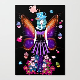 The TeaTime Fairy Canvas Print
