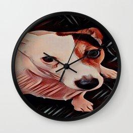 jack Russel Wall Clock