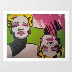 Andy Flare  Art Print
