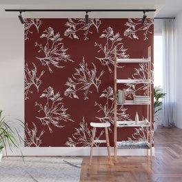Seaweed Pattern Wall Mural