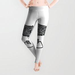 Eagle Logo Vector Leggings
