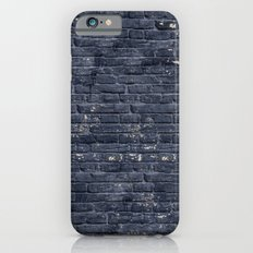 Black Brick Wall iPhone 6s Slim Case
