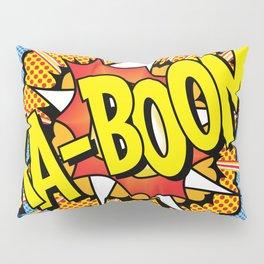 Ka Boom Pop Art Pillow Sham