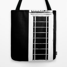 Architecture - Telephone box Tote Bag
