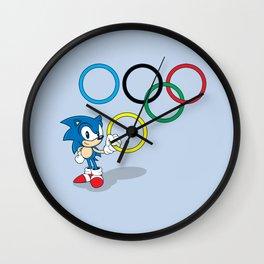 That's Mine! Wall Clock