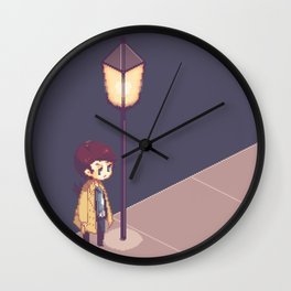 ill just wait here Wall Clock