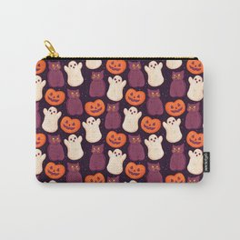 Halloween Marshmallows Carry-All Pouch