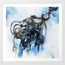 Floating Medallion Art Print