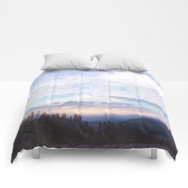 Landscape & Clouds Comforters
