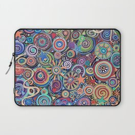 Seeing Stars Abstract  Painting Laptop Sleeve