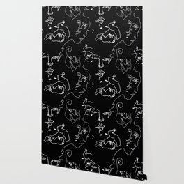 Faces In The Dark Wallpaper