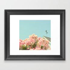A simple kind of life Framed Art Print