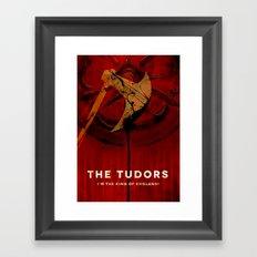 THE TUDORS Framed Art Print