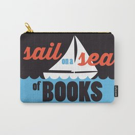 Sail - Just Read Carry-All Pouch