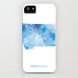 Montana iPhone Case