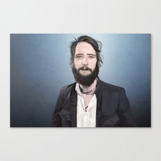 Band of Horses, Ben Bridwell Canvas Print