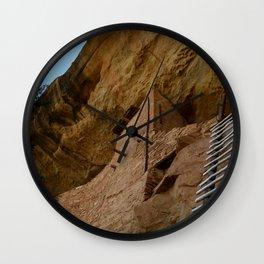 Climb Up the Ladder Wall Clock