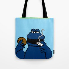 Cookie Monster Tote Bag