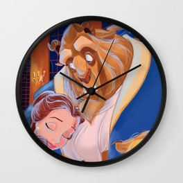 TALE AS OLD AS TIME- Beauty And The Beast Wall Clock