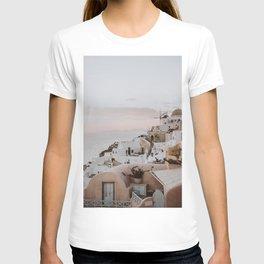 santorini x / greece T-shirt