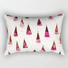 Christmas Trees Rectangular Pillow