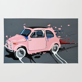 The pink lady Rug