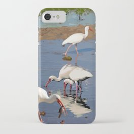 11 Ibises Wading iPhone Case