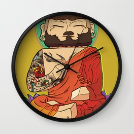 Gautama Block Wall Clock