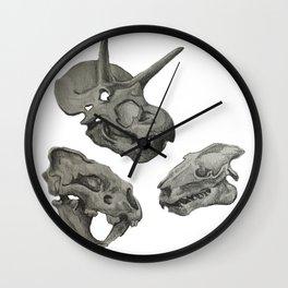 Dinosaur Skulls Wall Clock