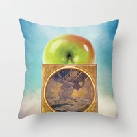 atlas Throw Pillows featuring Atlas by JPvR
