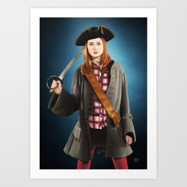 Doctor Who - Pirate Pond Art Print