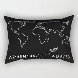 Adventure Map Rectangular Pillow