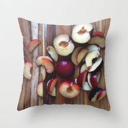 Fruit | Plum (2) Throw Pillow