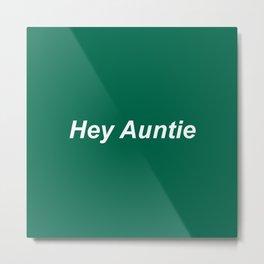 auntie Metal Print