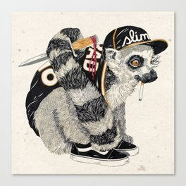 Hood Rat Canvas Print