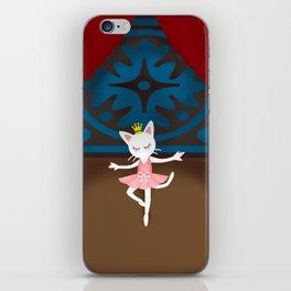 Ballet Cat iPhone Skin