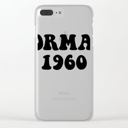 Eric Forman 1960 Clear iPhone Case