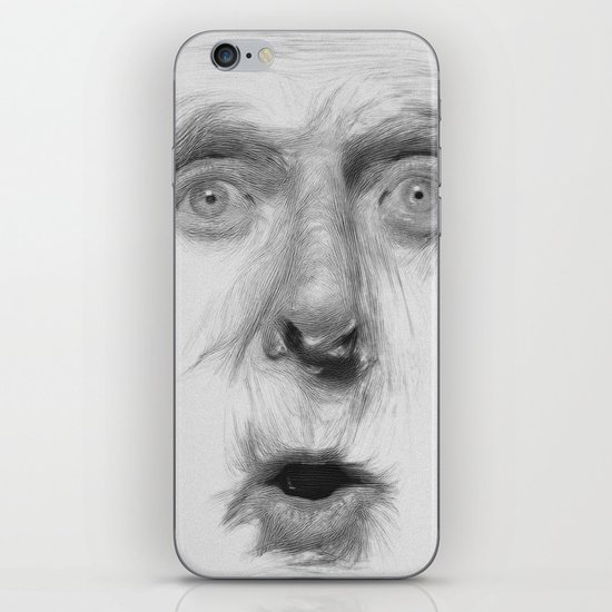fear iPhone & iPod Skin