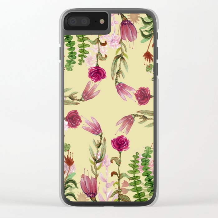 Central Nature Clear iPhone Case