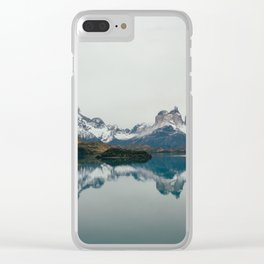 Patagonia, Chile by Caroline Zhao Clear iPhone Case