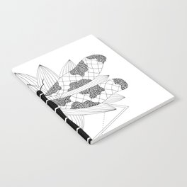 Dragonfly Over Lotus Notebook