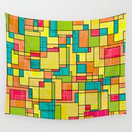 Square Club Wall Tapestry