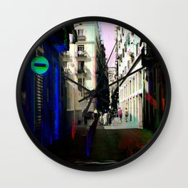 Those limits to ocular interpretation are implied. Wall Clock
