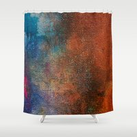 chameleon Shower Curtains featuring Chameleon by Bestree Art Designs