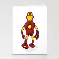 bender Stationery Cards featuring Iron Bender by Andy Whittingham