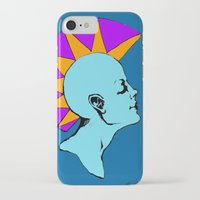 goddess iPhone & iPod Cases featuring Goddess by Helena Bowie Banshees