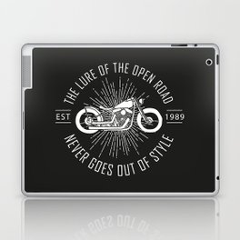 The lure of the open road never goes out of style Laptop & iPad Skin