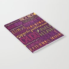 Standard Poster of Spells Notebook