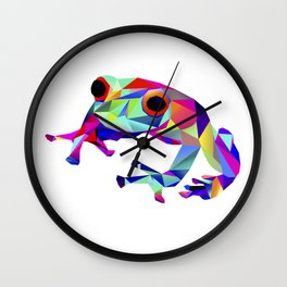 Freddy Frog Wall Clock