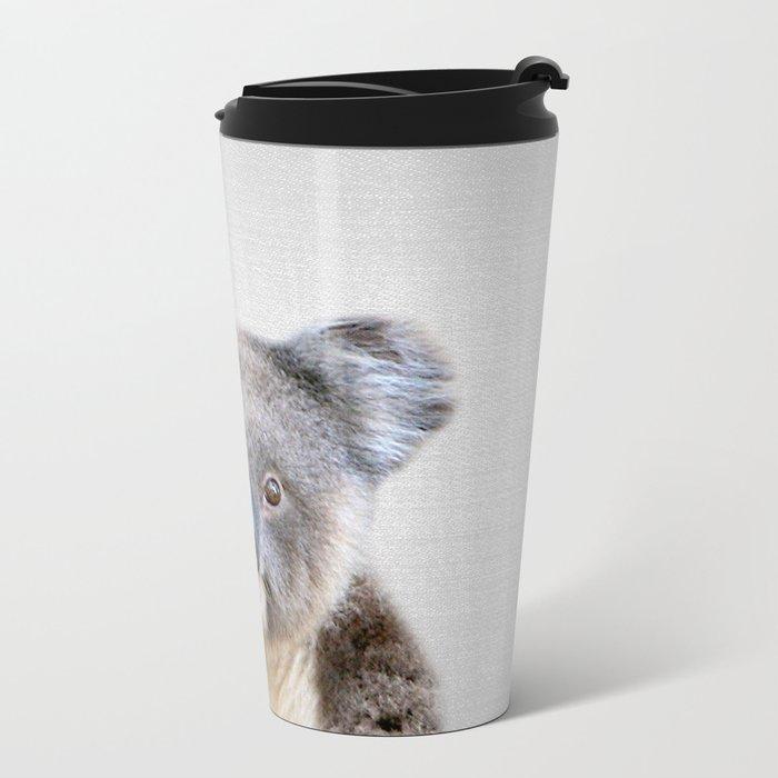 Koala - Colorful Metal Travel Mug